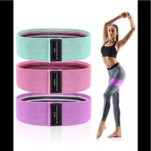 Resistance bands - new in pack